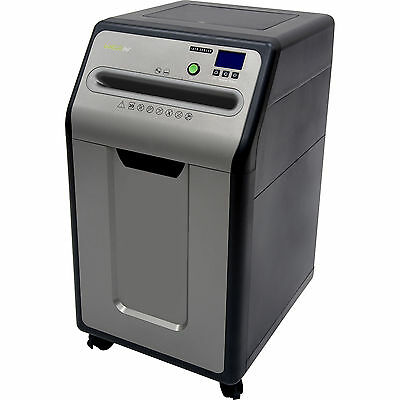 Micro-Cut Shredder GoECOlife 20-Sheet Under-Desk Security Safe Free Shipping New