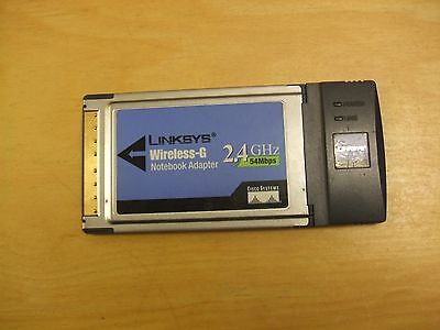 LinkSYS WPC54G Wireless - G Notebook Adapter.