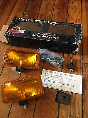 Vintage NOS MEAN MOTHER Rectangular Fog Light Kit-Off Road-Hong Kong-SUV