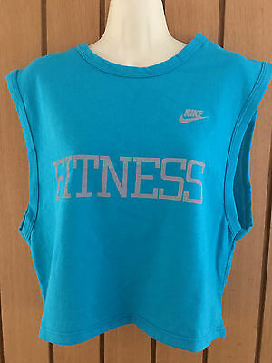 VINTAGE 1980s NIKE CROP TOP SIZE LARGE NEW WITH TAGS