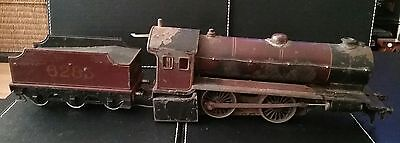 O gauge live steam locomotives with tender , restore sold as found