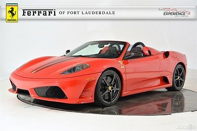 2009 Ferrari 430 Scuderia Spider 16M F430 Carbon Fiber Exterior Package Leather Upholstery Livery Extinguisher Racing Seat