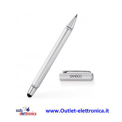 Wacom Bamboo Stylus DUO 2nd Gen -CS-150/WO-BX Due in uno, per schermo e carta
