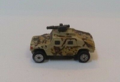 Galoob Micro Machines Military M1045 HUMVEE # 5 (Hummer) with Mounted Gun