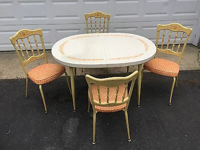 Vintage 1970s Daystrom Table and Chairs