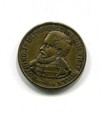 1852 Louis Kossuth Freedom Fighter Token Nothing Is Impossible