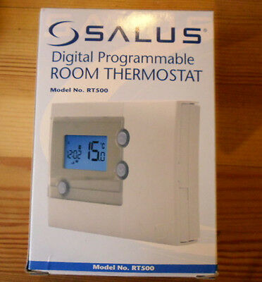 Salus Digital Programmable Room Thermostat RT500