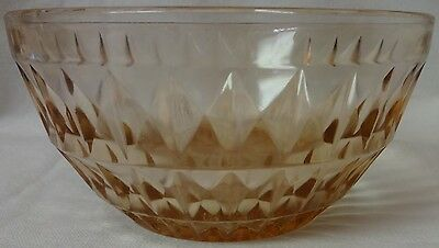"Windsor Pink Cereal Bowl 5.5"" Jeannette Glass Company"