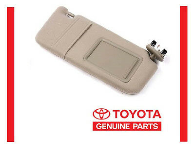2007 2008 2009 2010 2011 Toyota Camry Tan SUN VISOR RIGHT Passenger w/o Sunroof