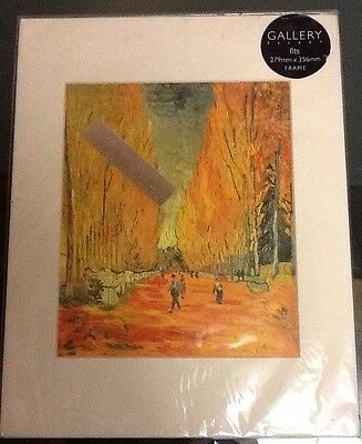 Van Gogh Mounted Print -279 X 356mm-Allee/Alyscamps- Unopened In Cellophane