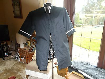 Hairdressers tunic black size small