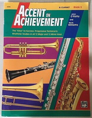 Accent on Achievement Book 3 - Clarinet