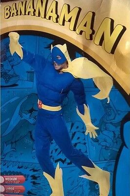 Bananaman Smiffy's Fancy Dress Outfit Worn Once.