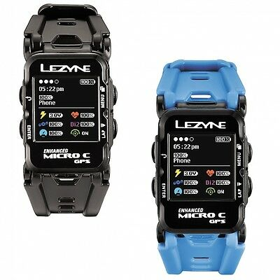 Montre GPS Lezyne Micro Watch Color +HR 2017