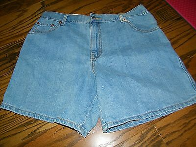 Women's Levi's Red Tab Vintage Faded  Jeans Blue JEan Shorts  16 Misses NWT