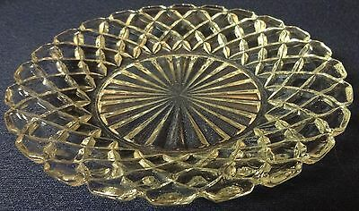 """Waterford Crystal Sherbet Plate 6"""" Set of 3 Hocking Glass Company"""