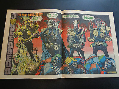 2000AD prog 226 comic in very nice condition (22 August 1981) Judge Death poster