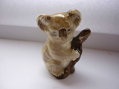 Small 6 cm Beswick Koala (bear) in Tree  PERFECT