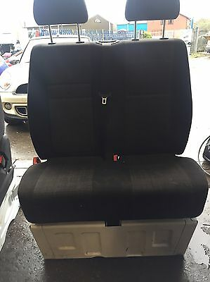 Mercedes Sprinter 2006-2016 Double Passenger Front Seat With Base Genuine