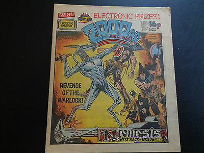 2000AD prog 230 comic in nice condition (19 September 1981) Nemesis the Warlock