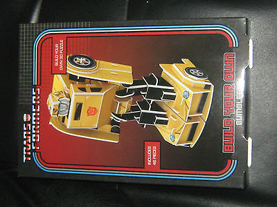 Transformers Bumblebee Build Your Own 3D Puzzle