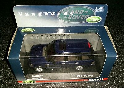 Corgi Vanguards Range Rover Adriatic Blue  Limited Edition 1:43 Scale ��