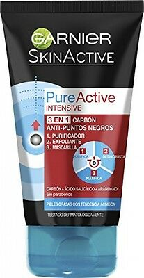 Garnier Skin Naturals Pure Active Intensive Charcoal Scrub 150ml