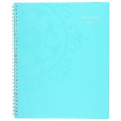 """AT-A-GLANCE Weekly / Monthly Planner / Appointment Book 2017, 8-1/2 x 11"""" NEW"""