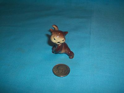 Hagen Renaker miniature Fighting Bear cub
