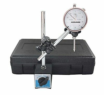 Accusize - 0 - 1'' x 0.001'' Dial Indicator with 60 Kgs Magnetic Base Set #EG...