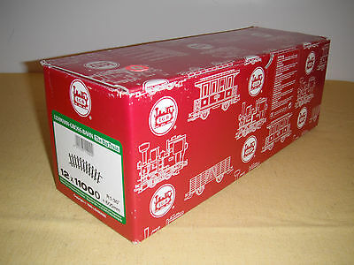 LGB G Scale 12 x 11000 Curved Track - New in Box - bright & clean -