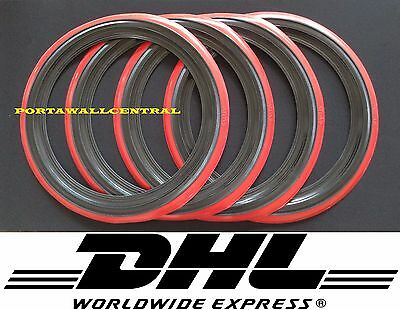 Rad road custom Oldtimer style tyre 17/'/' Black Red wall port a walls Set of 4
