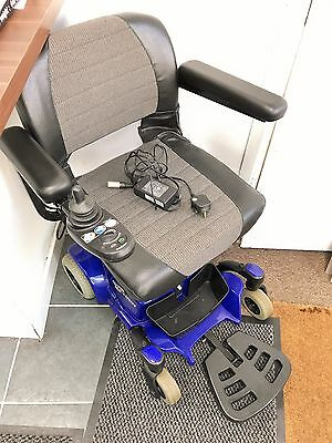 Pride Go Chair Folding Comes Apart Electric Wheelchair Good Used Condition