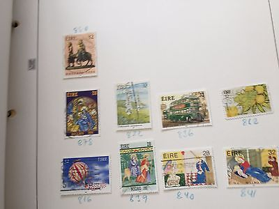European Countries collection of stamps in album on pages from  estate