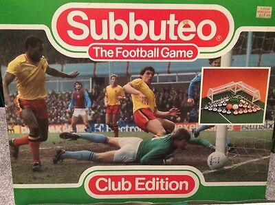 Subbuteo LW Set - Club Edition Complete and in Good Condition. Great Set