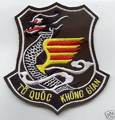 VNAF patch, South Vietnamese Air Force insignia, OD color