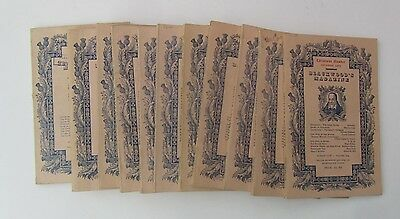Blackwood's Magazine 1963, complete except for May (11 issues)