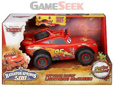 Disney Cars Off Road Racin Lightning Mcqueen Toy - Toys Brand New Free Delivery