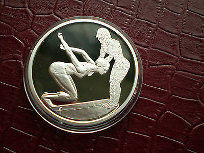Greece 10 Euro 2004 Silver Proof 1 Oz Large Silver Coin Olympics Ancient Design