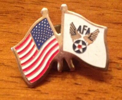 Air Force Association Lapel Pin with American Flag