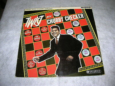 Chubby Checker:twist With Chubby.1960 Uk Original Lp.