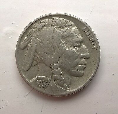 1937 Liberty 5 Cents Coin United States Nickel USA coins cent