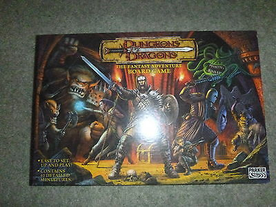 Dungeons & Dragons The Fantasy Adventure Board Game 100% Complete 2003 Parker