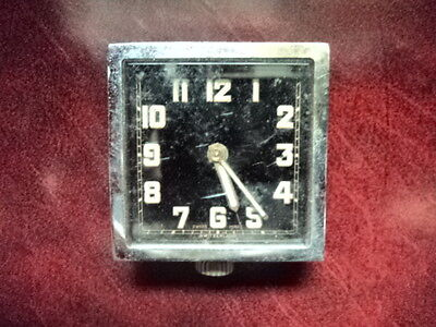 Vintage Art Deco Alarm Clock swiss movement