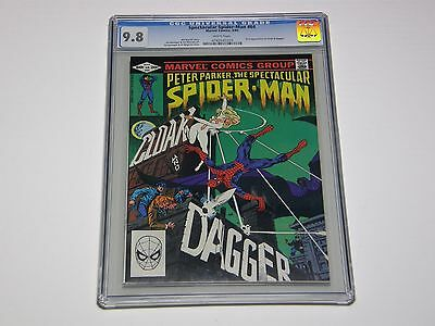 Spectacular Spider-Man #64 GC 9.8 White Pages 1st appearance Cloak & Dagger 1982