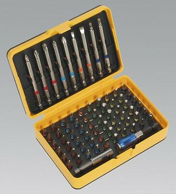 Sale! S01038 Sealey Power Tool Bit Set 71Pc Colour Coded S2