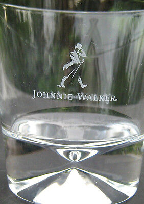 Johnnie Walker Whiskey 10 Oz Walking Man Limited Edition Glass 2016