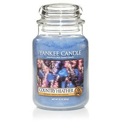 Country Heather Yankee Candle Rare