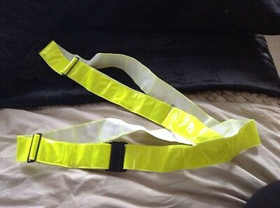 Adults Hi Vis Horse Riders Body Harness Fully Adjustable