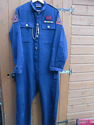 WW2 ARP Civil Defence Rescue Service reproduction overalls/boilersuit WWII